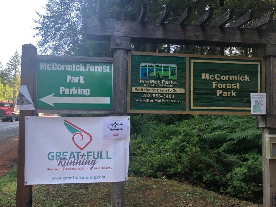 Trail Divas loves running in McCormick Forest Park!