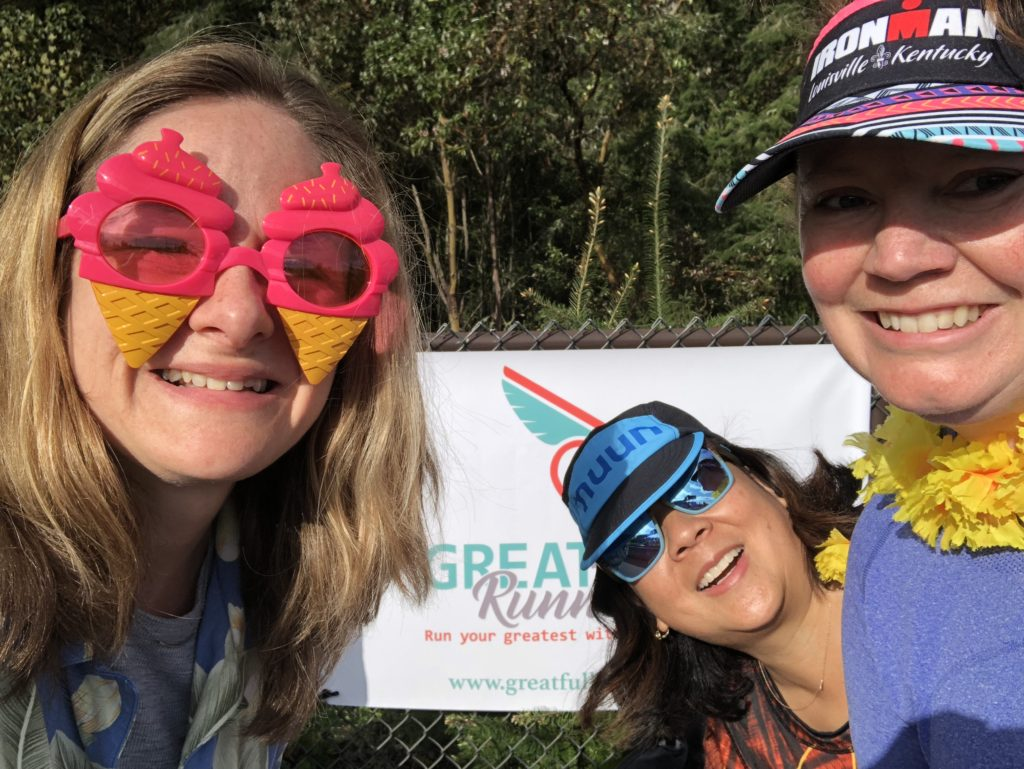 Great+Full Running aid station for the Tacoma City Ultra Marathon 2018